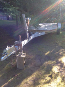 Tandem Boat Trailer with Removable Deck - Wasaga Beach