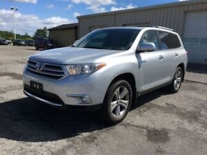 2012 Toyota Highlander Limited/CARPROOF CLEAN/LEATHER SUNROOF/NA