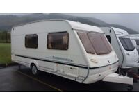 Abbey Aventure 2002 4 berth clean family caravan all ready to o on holidays