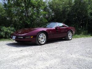93 Corvette 40th Anniversary
