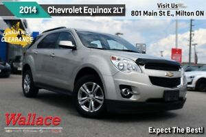 2014 Chevrolet Equinox 2LT/SUNROOF/HEATED LTHR SEATS/REAR CAMERA