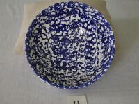 Handmade pottery fruit bowl