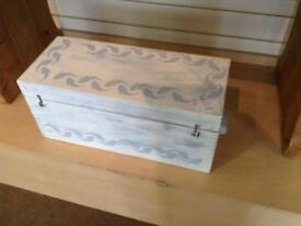 Hand painted TOY BOX.