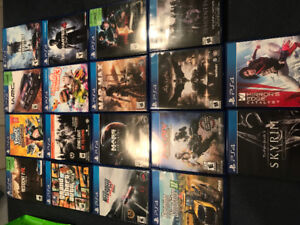 New PS4 Slim 18 games 2 controllers 500 gig