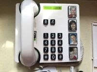 DORO BIG BUTTON PHOTO PHONE MEMORYPLUS 319iph -only used for 2 weeks