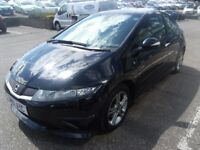 2011 61 HONDA CIVIC 1.3 I-VTEC TYPE S 3D 98 BHP **** GUARANTEED FINANCE **** PART EX WELCOME ****