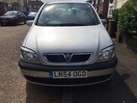VAUXHALL ZAFIRA 1.8 2005, AUTOMATIC, FULL SERVICE HISTORY, VERY LOW MILEAGE, 1 PREVIOUS LADY OWNER