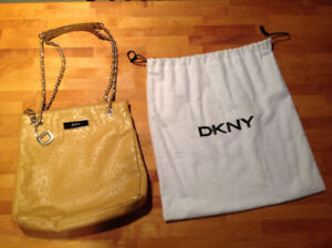 DKNY Ostrich Leather Purse