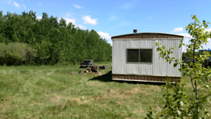 10 acre lot with mobile home