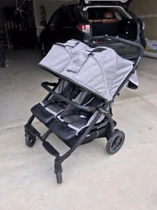 Excellent (barely used) Peg Perego Book Plus Double Stroller