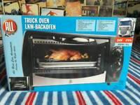 Brand new truck travel oven