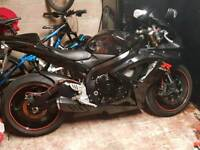 Suzuki GSXR600 relentless edition