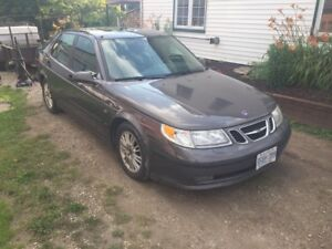 2005 Saab safetied and etested
