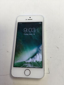 iphone 5s 16G white locked with Telus mint condition
