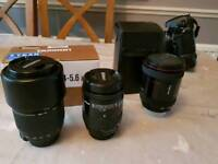 Camera lenses!