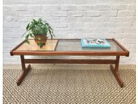 G Plan Tile and Glass Coffee Table #368