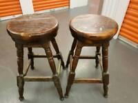 Old bar stools