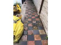 Free patio slabs / hard core