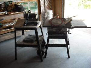 """10"""" Table saw/10"""" Compound mitre saw"""
