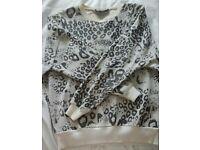 Topshop printed jumper