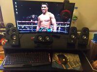 NZXT gaming setup (gaming computer)