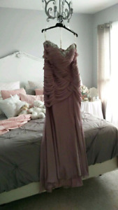 Brand new embellished gown for sale