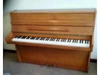 Small mod. piano in pristine condition CAMDENPIANORESCUE can deliver