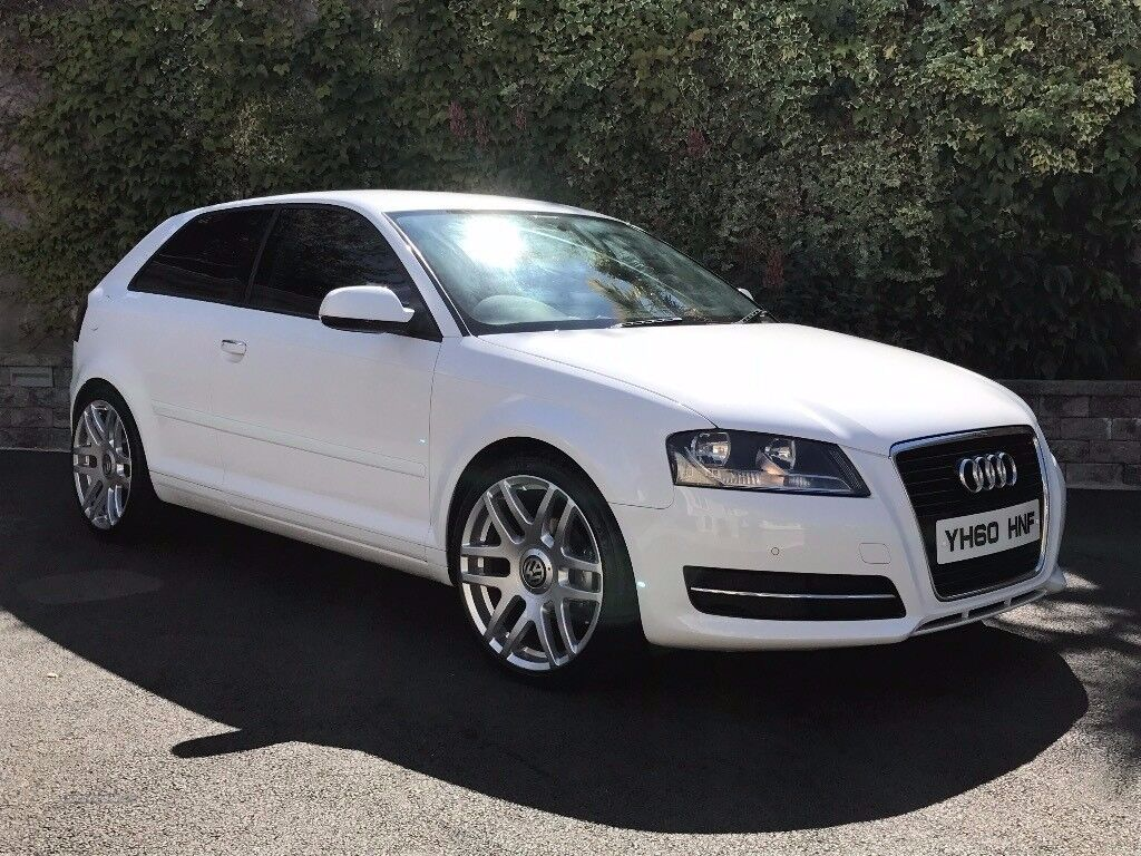 audi a3 1 6tdi 2010 3 door ibis white 32 per week finance available to suit you in. Black Bedroom Furniture Sets. Home Design Ideas