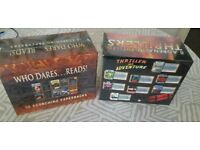 2 x THRILLER BOOK SETS - BRAND NEW