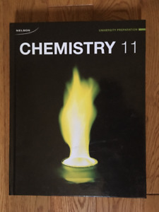 "NELSON ""CHEMISTRY 11 UNIVERSITY PREPARATION"" TEXTBOOK"