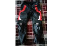 RST PRO racing motorcycle leather trousers size 34