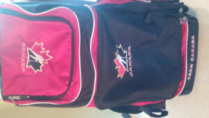 Team Canada hockey bag