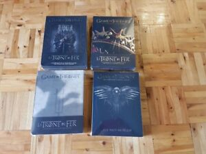 DVD Game Of Thrones 1 - 2 - 3 - 4 NEW / NEUF