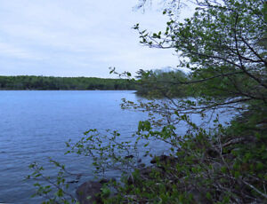 QUIET RETREAT - LAKEFRONT LOT - SHERBROOKE LAKE