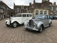 Luxury Vintage and luxury Wedding Car Hire through out Norfolk