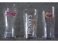 SELECTION OF NEW PINT GLASSES