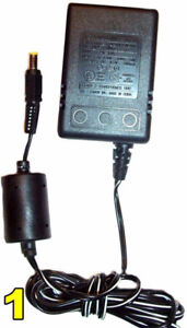 Adapter - Chargers 9 and 9.5 Volt Output - UPDATED 08/12/2017