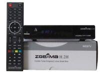 Zgemma H2H/H2S Cable IPTV Box