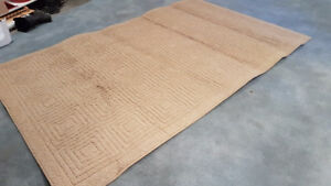 5x8' tan carpet