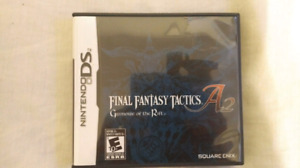Final Fantasy Tactics A2: Grimoire of the Rift (Like New)