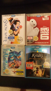 Super Disney Blu-Ray/DVD combos like new