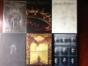 Game of Thrones Seasons 1-6