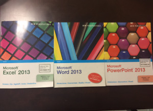 3 Textbook Combo, Microsoft Word, PowerPoint & Excel 2013