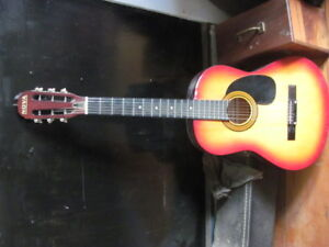 Nova acoustic guitar, nice condition