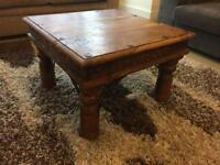Coffee table hard wood