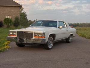 1981 Cadillac Fleetwood Brougham D'Elegance COUPE
