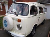 VW T2 Bay window campervan 1973 not splitscreen
