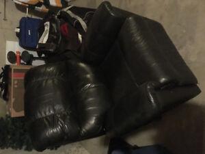 Palliser Leather Rocker/Recliner