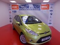 Ford Fiesta TITANIUM (GREAT SPEC) FREE MOT'S AS LONG AS YOU OWN THE CAR!!! (green) 2010