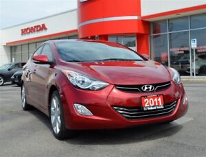 2011 Hyundai Elantra Limited | LOW KMS | ONE OWNER | ACCIDENT FR